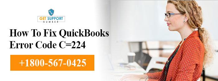 How To Fix QuickBooks Error Code C=224