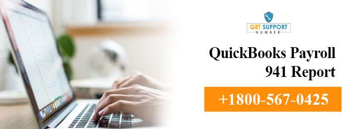 quickbooks payroll e file 941  Form 941 quickbooks payroll 941 report 1