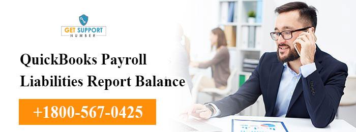 QuickBooks Payroll Liabilities Report Balance