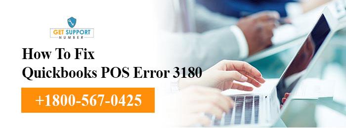 How To Fix Quickbooks POS Error 3180