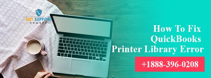 How To Fix QuickBooks Printer Library Error