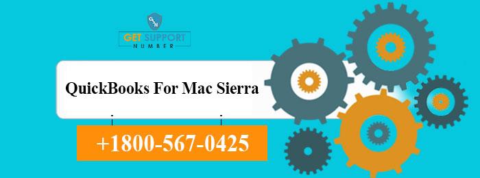QuickBooks For Mac Sierra