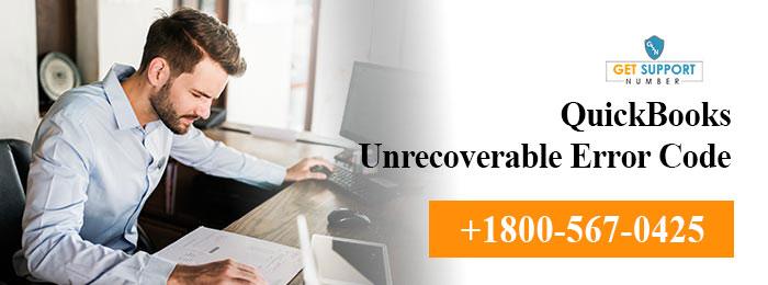QuickBooks Unrecoverable Error Code