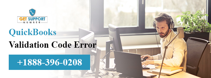QuickBooks Validation Code Error