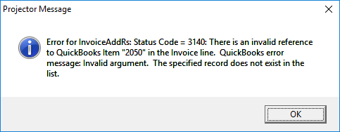QuickBooks Error 3140