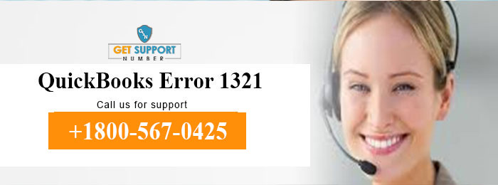 QuickBooks Error 1321