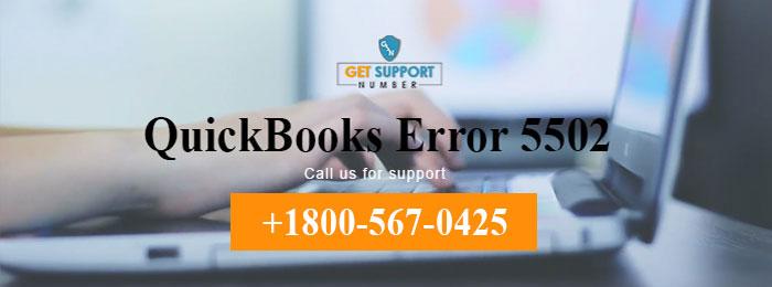 QuickBooks Error 5502