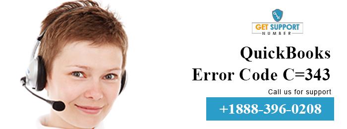 QuickBooks Error Code C=343