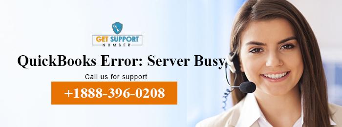 QuickBooks Error: Server Busy