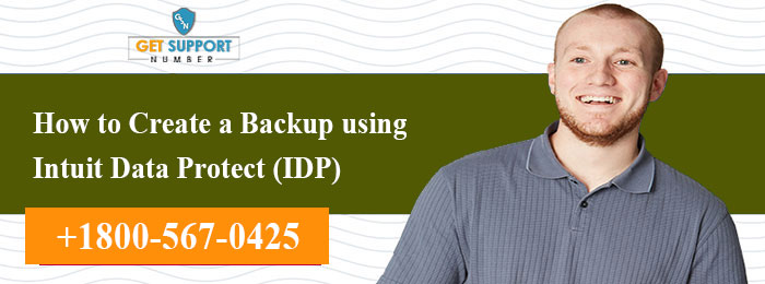 How to Create a Backup using Intuit Data Protect (IDP)