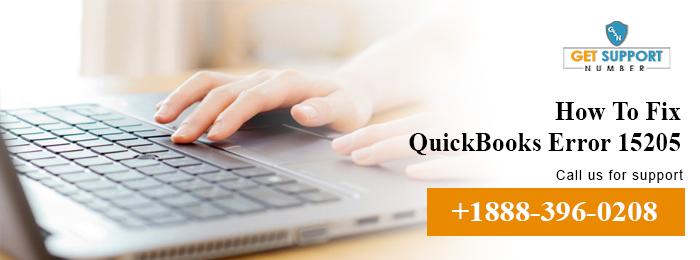 How To Fix QuickBooks Error 15205?