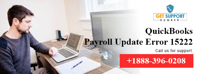 QuickBooks Payroll Update Error 15222