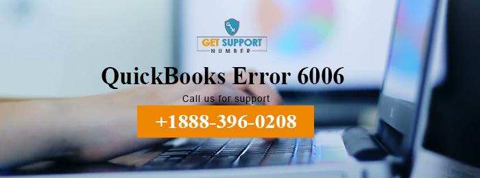 QuickBooks Error 6006