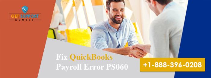 Fix QuickBooks Payroll Error PS060