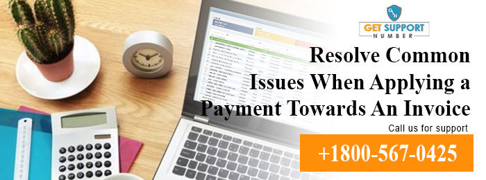 Resolve Common Issues When Applying a Payment Towards An Invoice