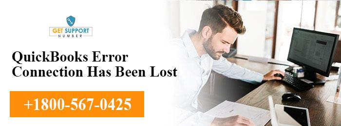 QuickBooks Error Connection Has Been Lost