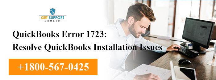 QuickBooks Error 1723: Resolve QuickBooks Installation Issues