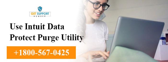 Use Intuit Data Protect Purge Utility