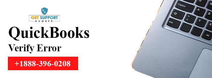 QuickBooks Verify Error