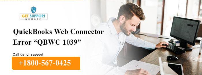 "QuickBooks Web Connector Error ""QBWC 1039"""