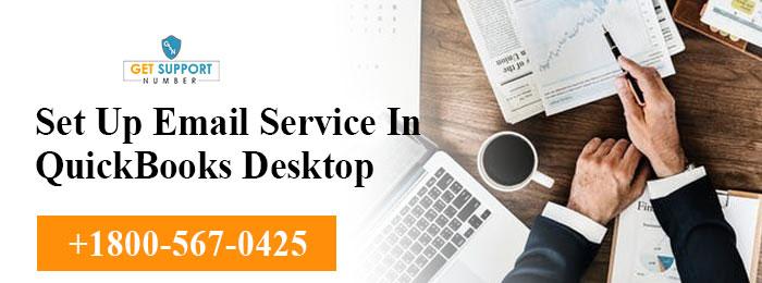 Set Up Email Service In QuickBooks Desktop