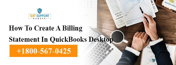 How To Create A Billing Statement In QuickBooks Desktop
