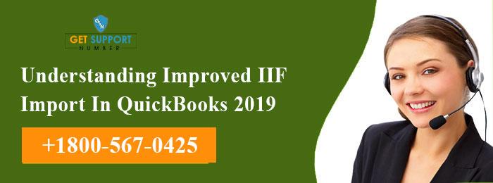 Understanding Improved IIF Import In QuickBooks 2019
