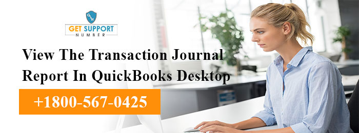 View The Transaction Journal Report In QuickBooks Desktop