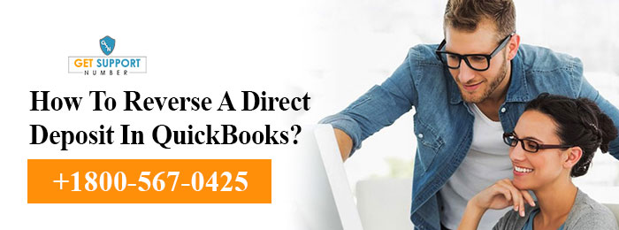 How To Reverse A Direct Deposit In QuickBooks?